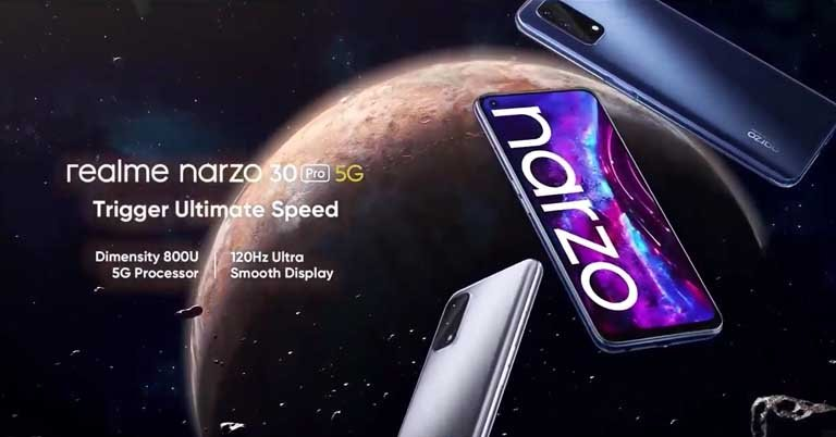 Realme Narzo 30 Pro 5G launched