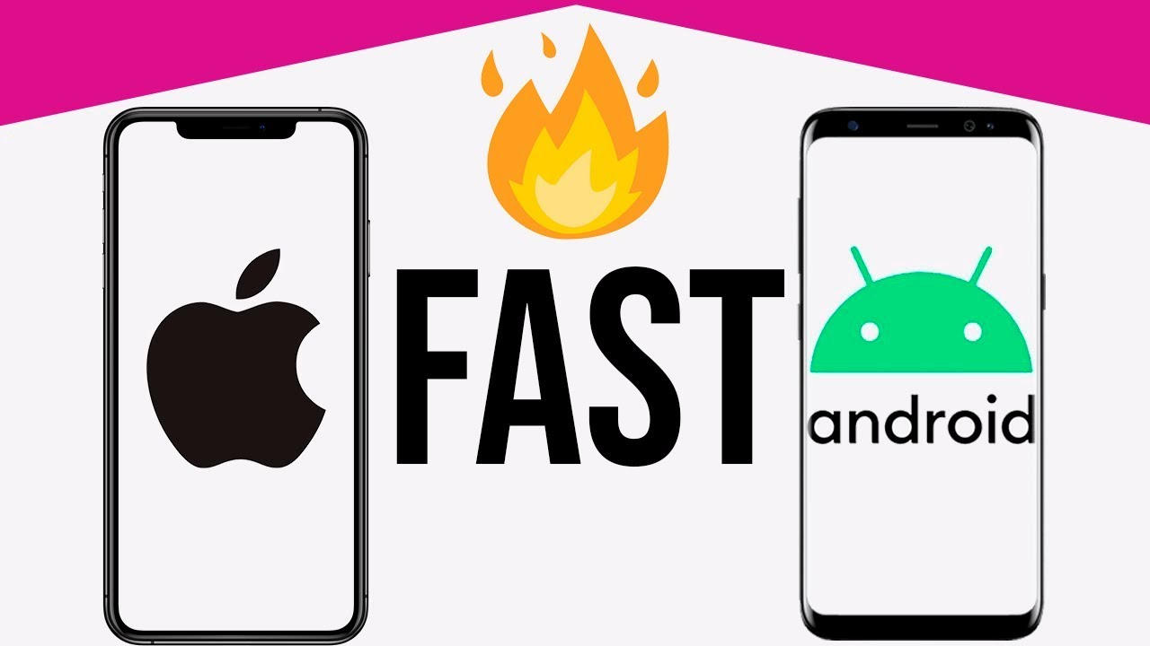 Why iPhone is faster than Android