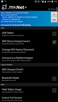 Third party app for tethering 2 1