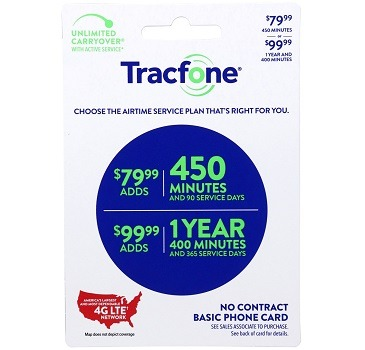 Tracfone 450 minute 79.99