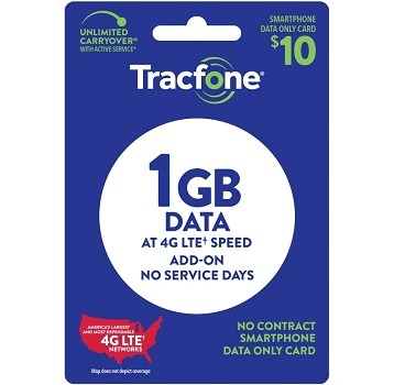 Tracfone Air Time Data Text Plan at Family Dollar
