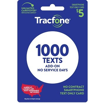 Tracfone Text Only Plan 1000
