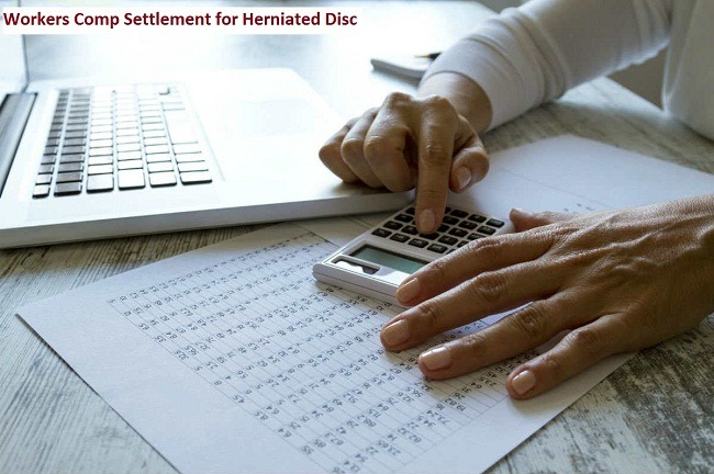 Workers Comp Settlement for Herniated Disc 1